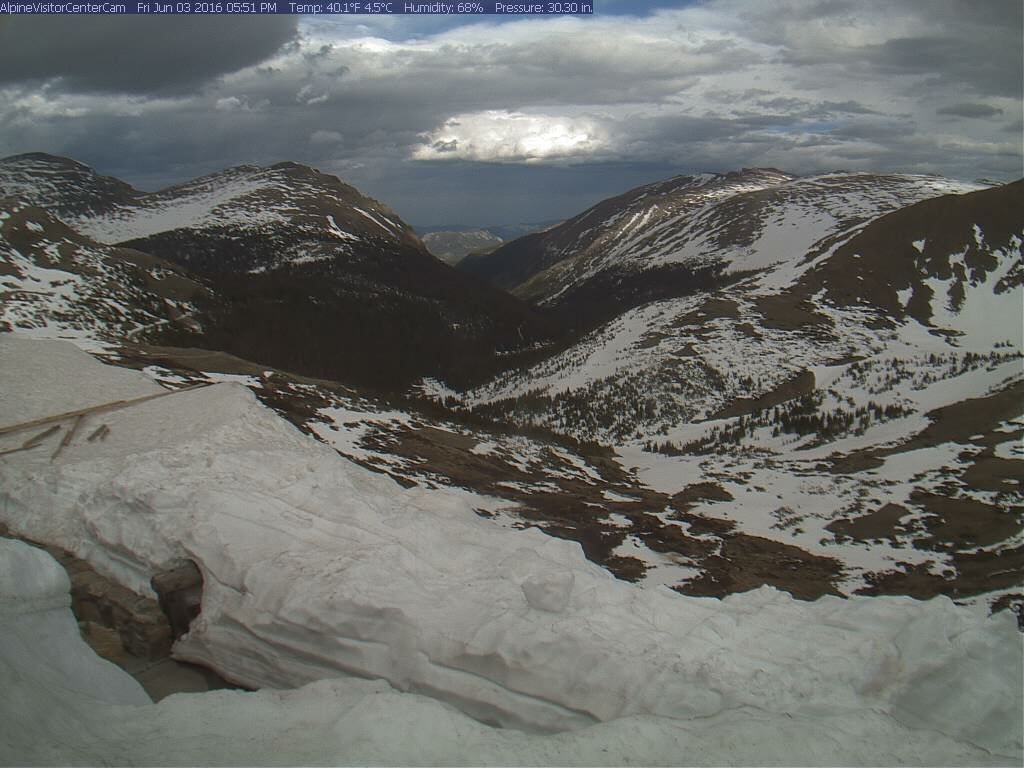 Rocky Mountain NP June 3, 2016 Alpine Visitor Center