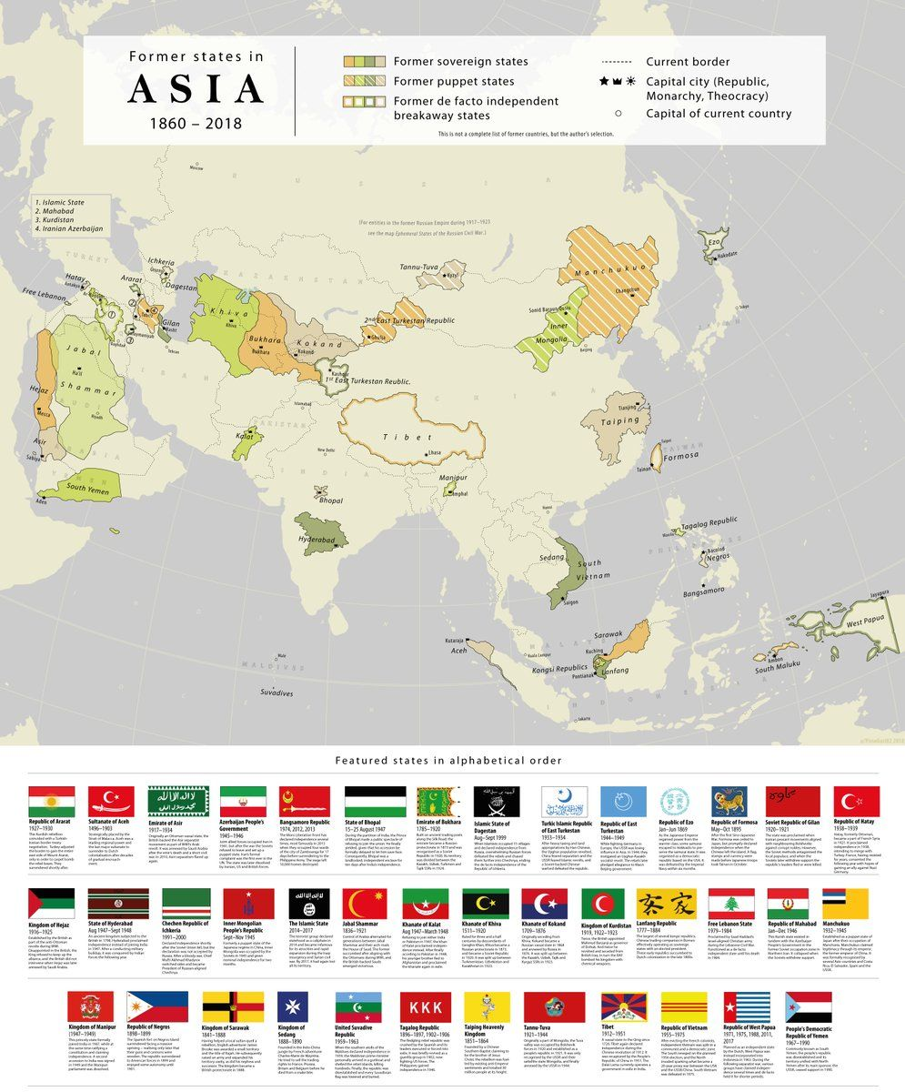 Map Of Asia Just Countries.Nicholas Danforth On Geopolitics Map Historical Maps Geography