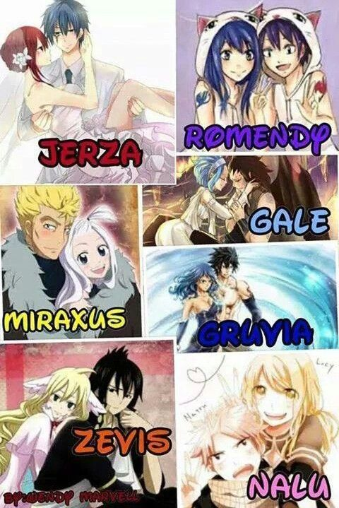 Les Couples De Fairy Tail : couples, fairy, Erza,, Wendy, Mavis, Fairy, Couples,, Ships,, Anime