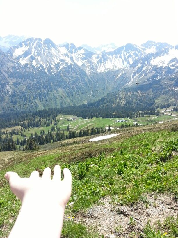 Give me mountains and love