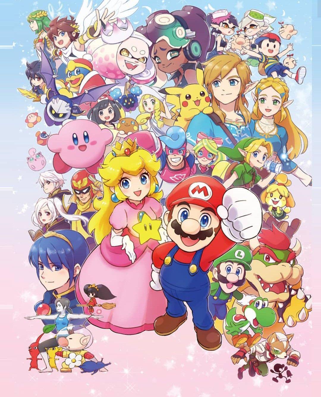 Nintendo Nintendo super smash bros, Smash bros, Super