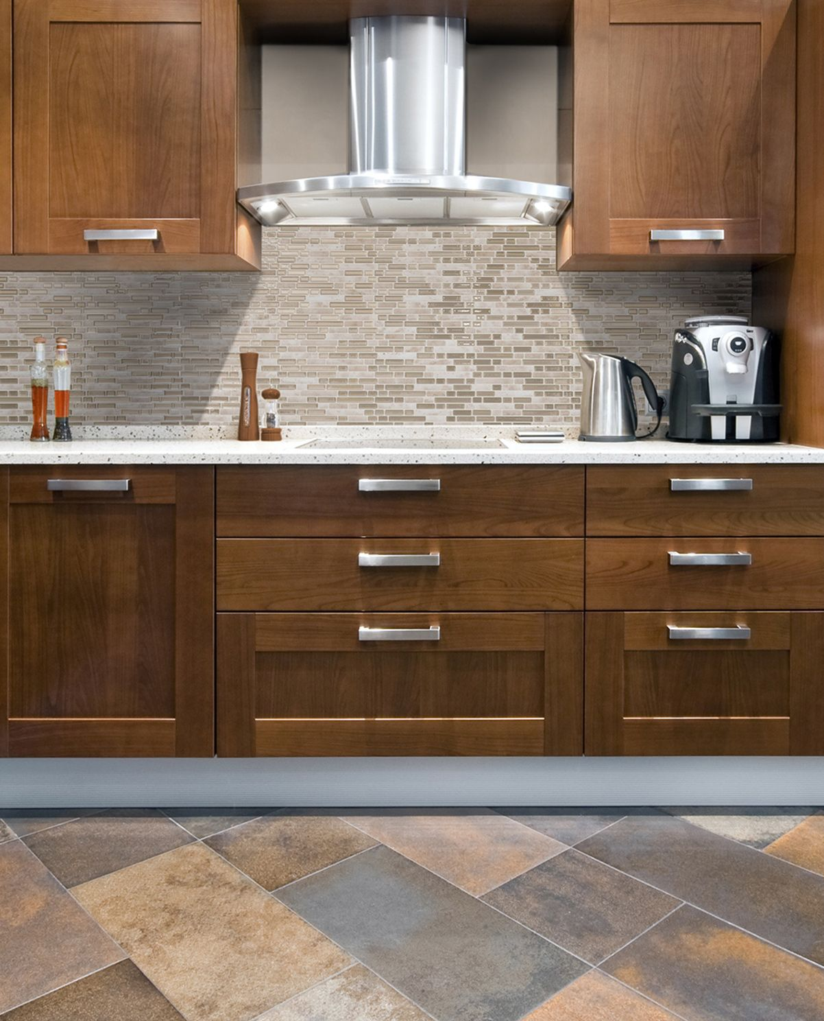 Smart tiles are perfect for adding a removable back splash to a smart tiles bellagio sabbia in peel and stick mosaic decorative wall tile backsplash in beige at the home depot mobile dailygadgetfo Image collections