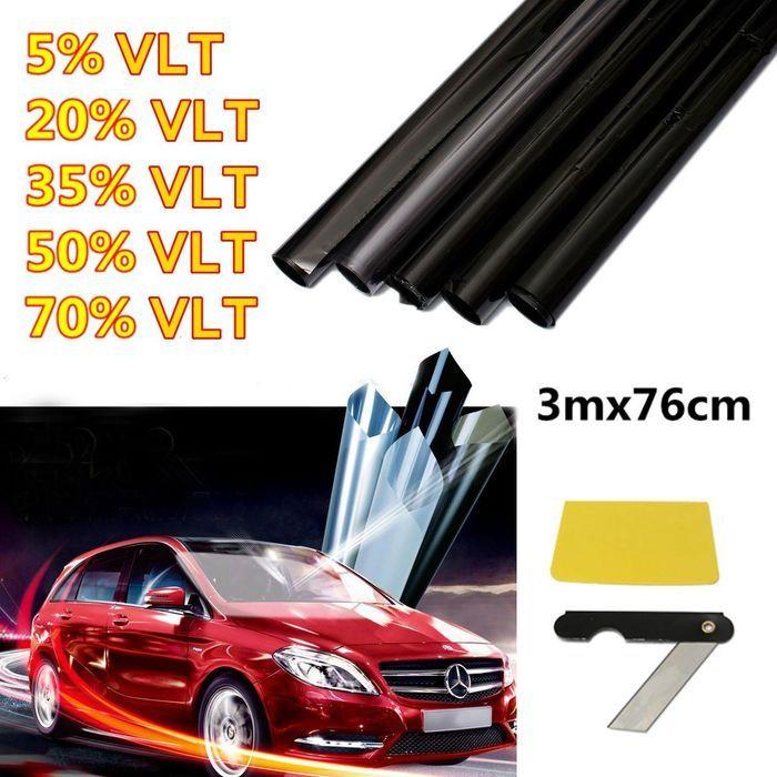 Vidro de janela de Home de Auto do carro de 3mx76 cm matiza filme que matiza LVT: Bid: 14,98€ (£13.16) Buynow Price 14,98€ (£13.16)…