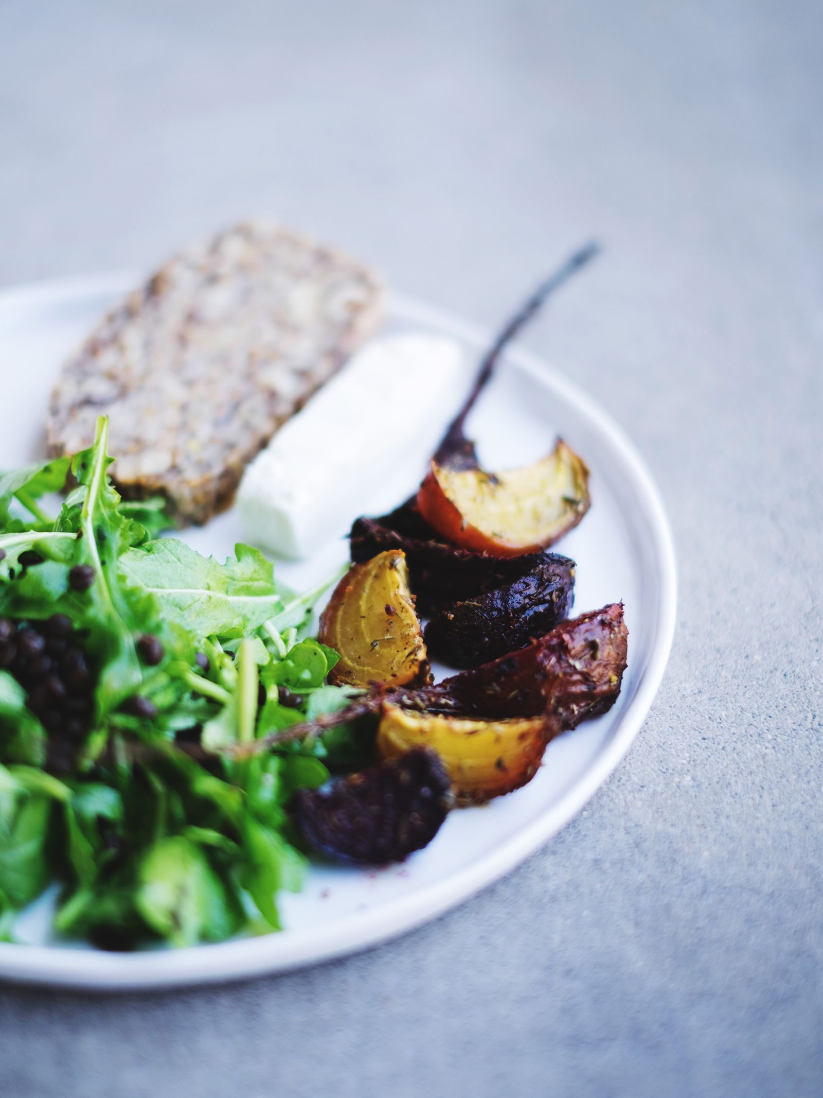 Sweet Kabocha · Lunch w/ Rawspicebar's provencal spices