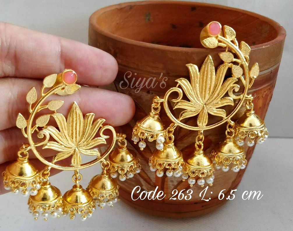 Earrings DM us for more info Indianjewellery templejewellery