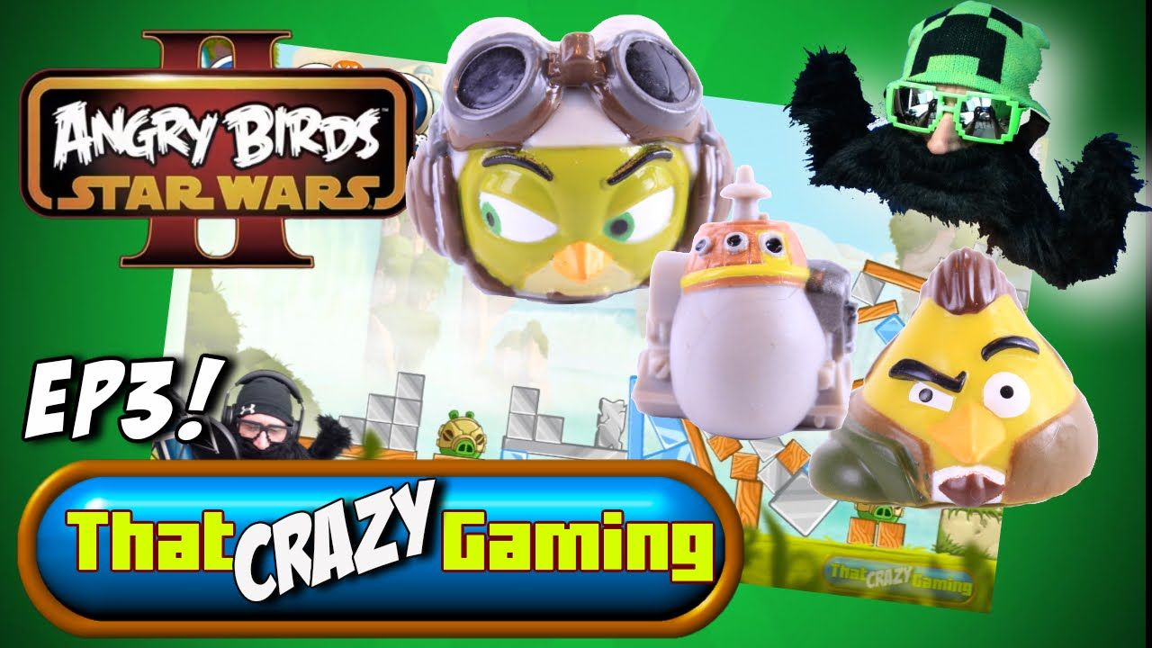 Angry Birds Star Wars 2 Let S Play Telepods Ep3 Thatcrazygaming