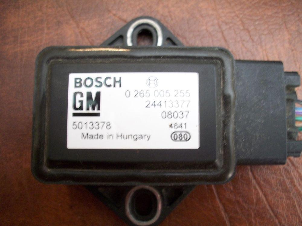 Bosch Gm G8 Yaw Rate Sensor 0 265 005 255 0265 005 255 Bosch