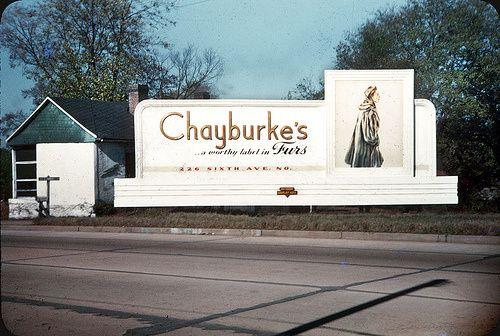 Nashville Signs in 1940s   vintage everyday