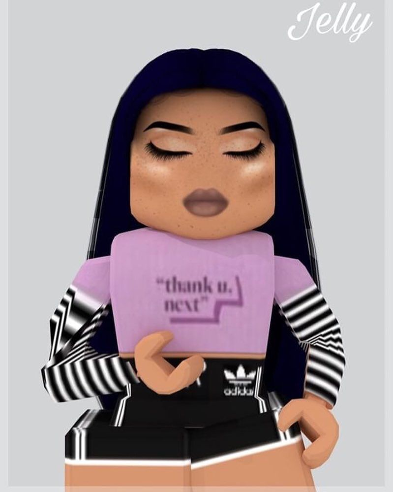 Thank You Next Gfx By Deniedjelly Shirt By Poopypeppa Model Phatible No Thank You Ne Roblox Pictures Cute Profile Pictures Roblox Animation