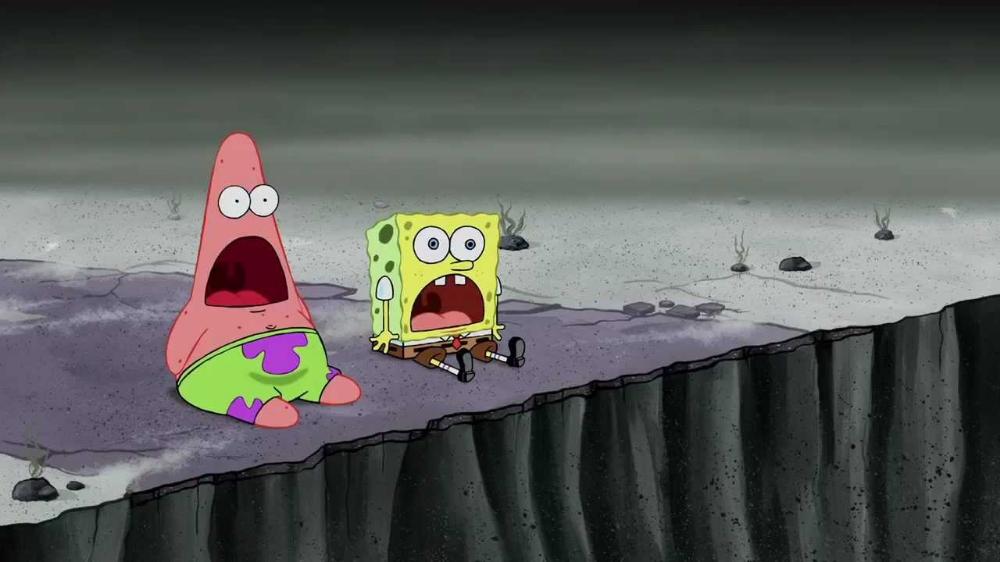 Trafon On Twitter Spongebob Drawings Surprised Patrick Spongebob Painting