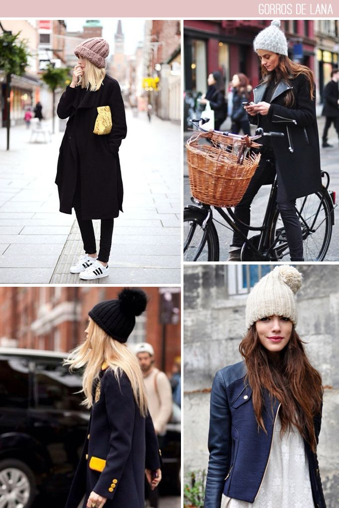 6ec6774d3fea tendencia gorros de lana | Tejidos♡ | Gorros de lana, Gorras y Ropa ...