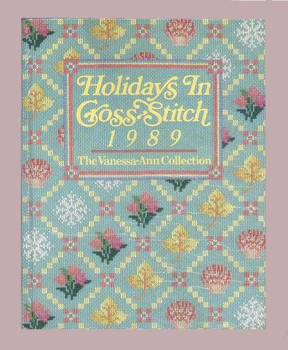 CrossStitch Patterns Book  VanessaAnn's by ProfessorBooknoodle, $9.99