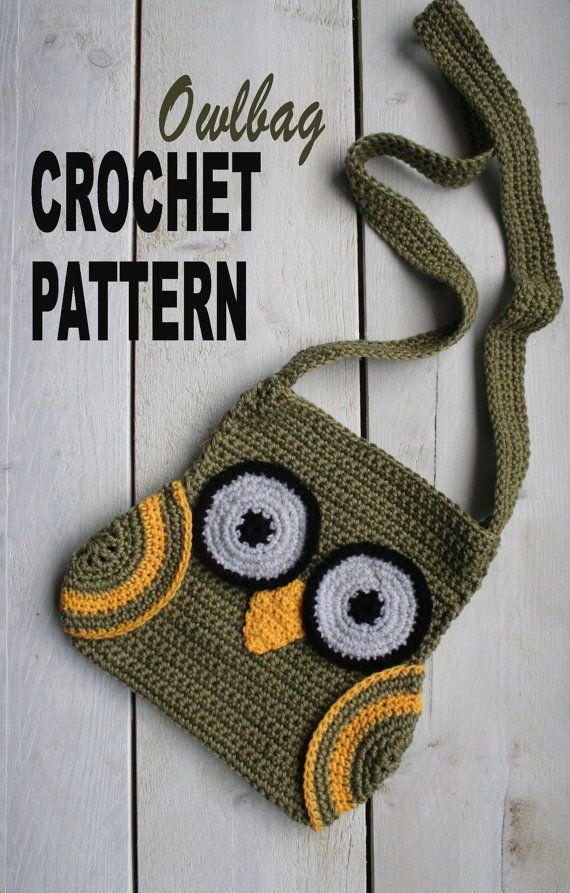 easy to make owlbag! | Taschen, Körbe, Beutel, Handyhüllen, etc ...