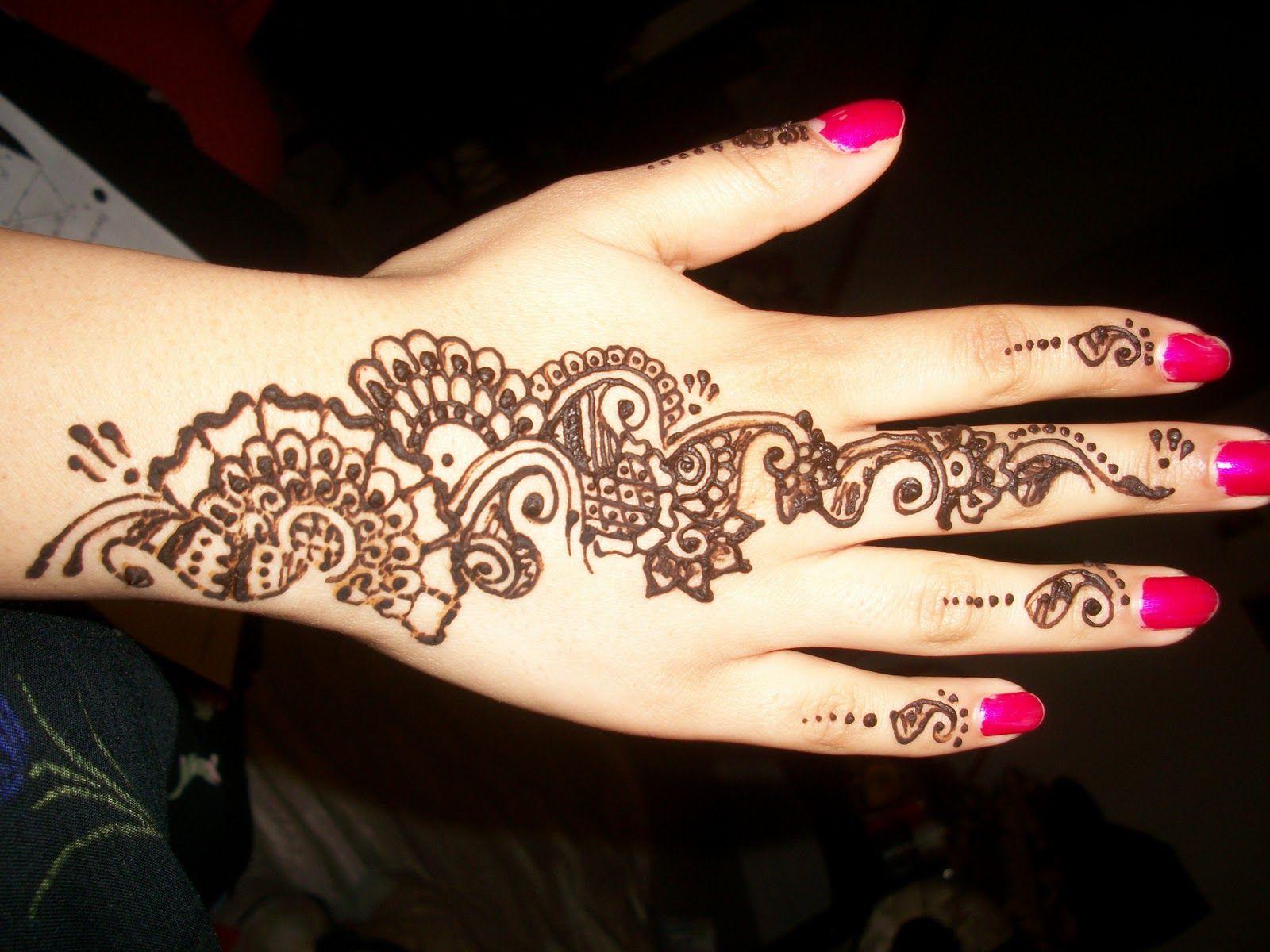 Foot Henna Flower Floral Henna Designs For Hand Feet Arabic