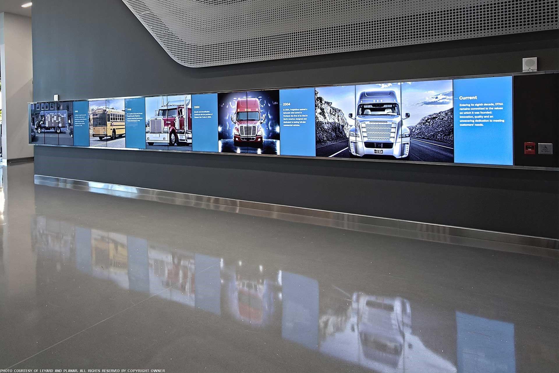 Leyard video wall as in DC bureau   CNN   Video wall