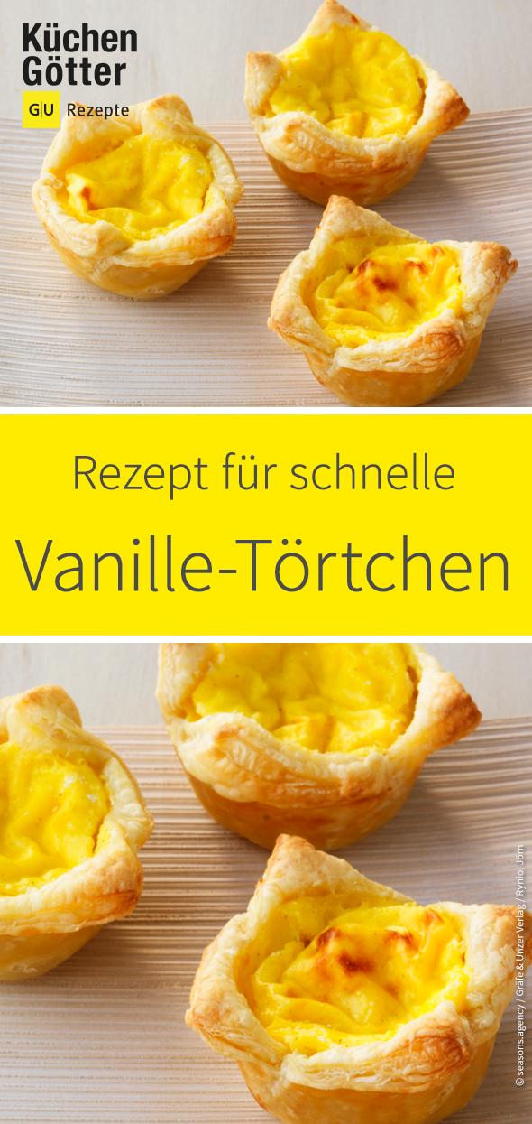 Schnelle Vanille-Törtchen #flanpatissier