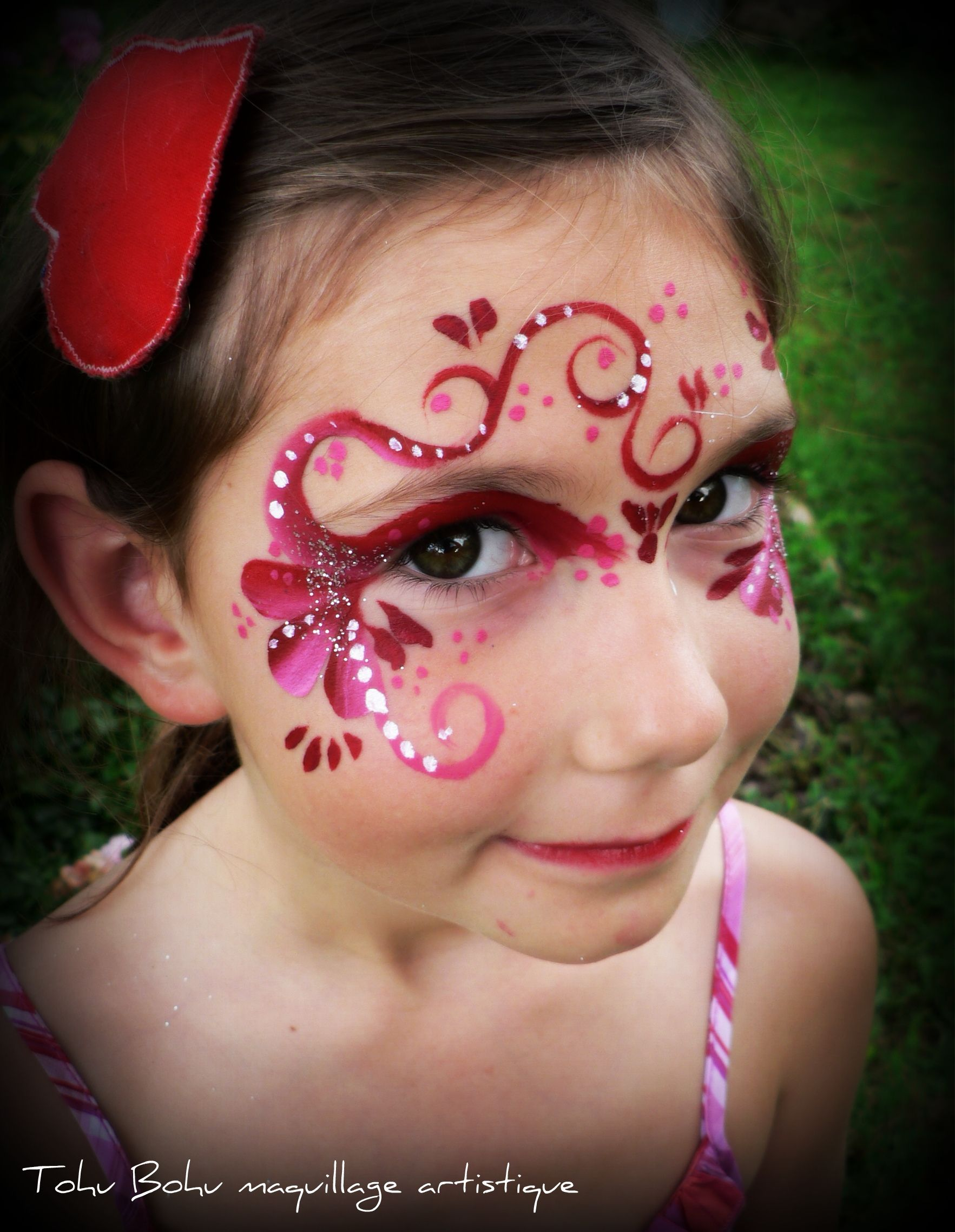 FAIRY FACE PAINTING | face painting | Pinterest
