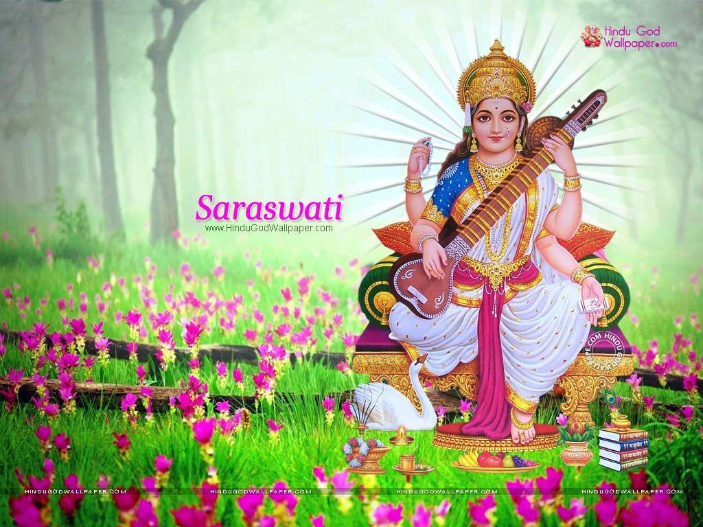 Hindu Goddess Saraswati Wallpapers Wallpaper Free Download Saraswati Photo Saraswati Picture