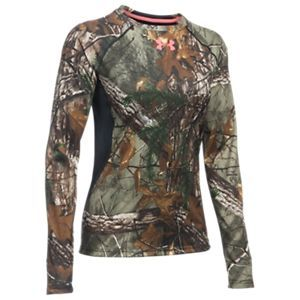 42842416342af Under Armour Scent Control Long-Sleeve Shirt for Ladies - Realtree Xtra - M