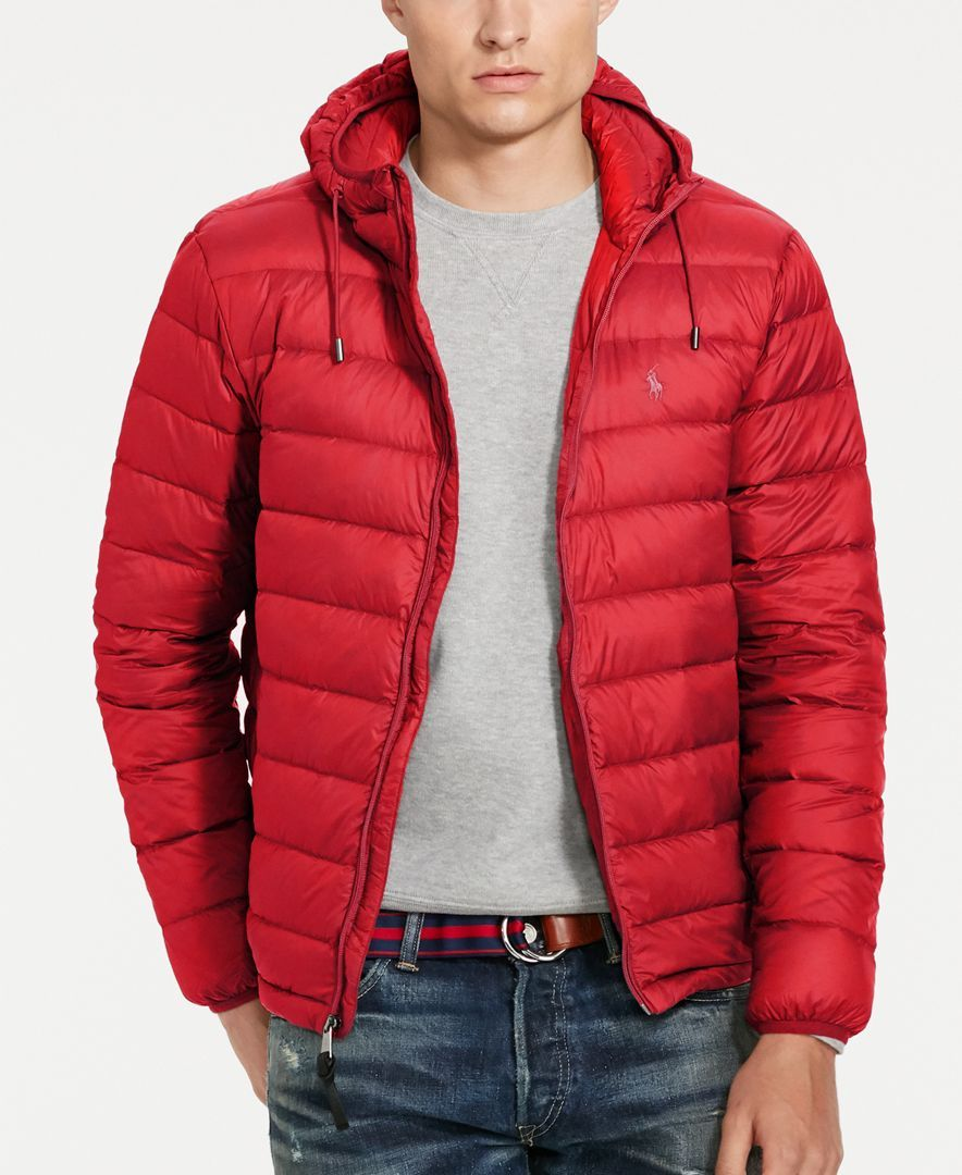 8147c50d676cc Polo Ralph Lauren Men s Packable Down Jacket