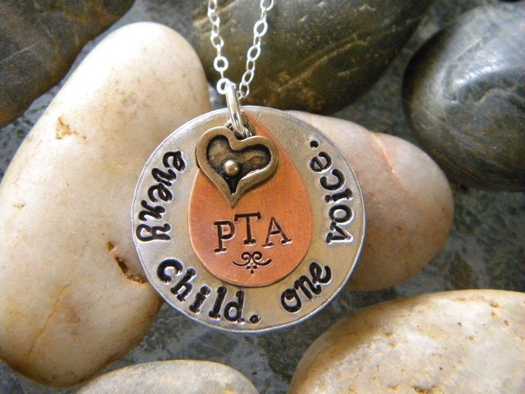 pta appreciation necklace