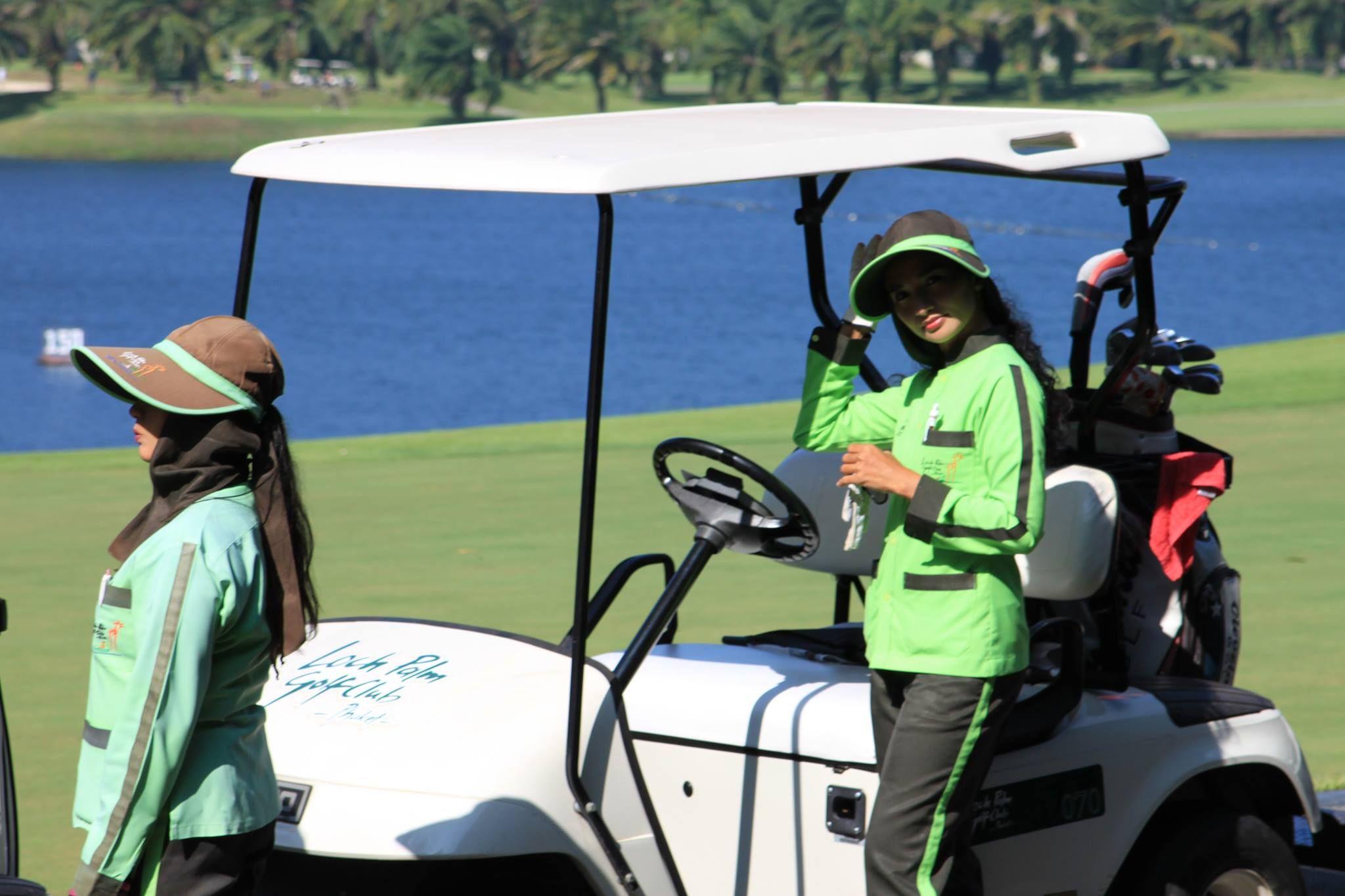 12++ Caddie de golf occasion viral