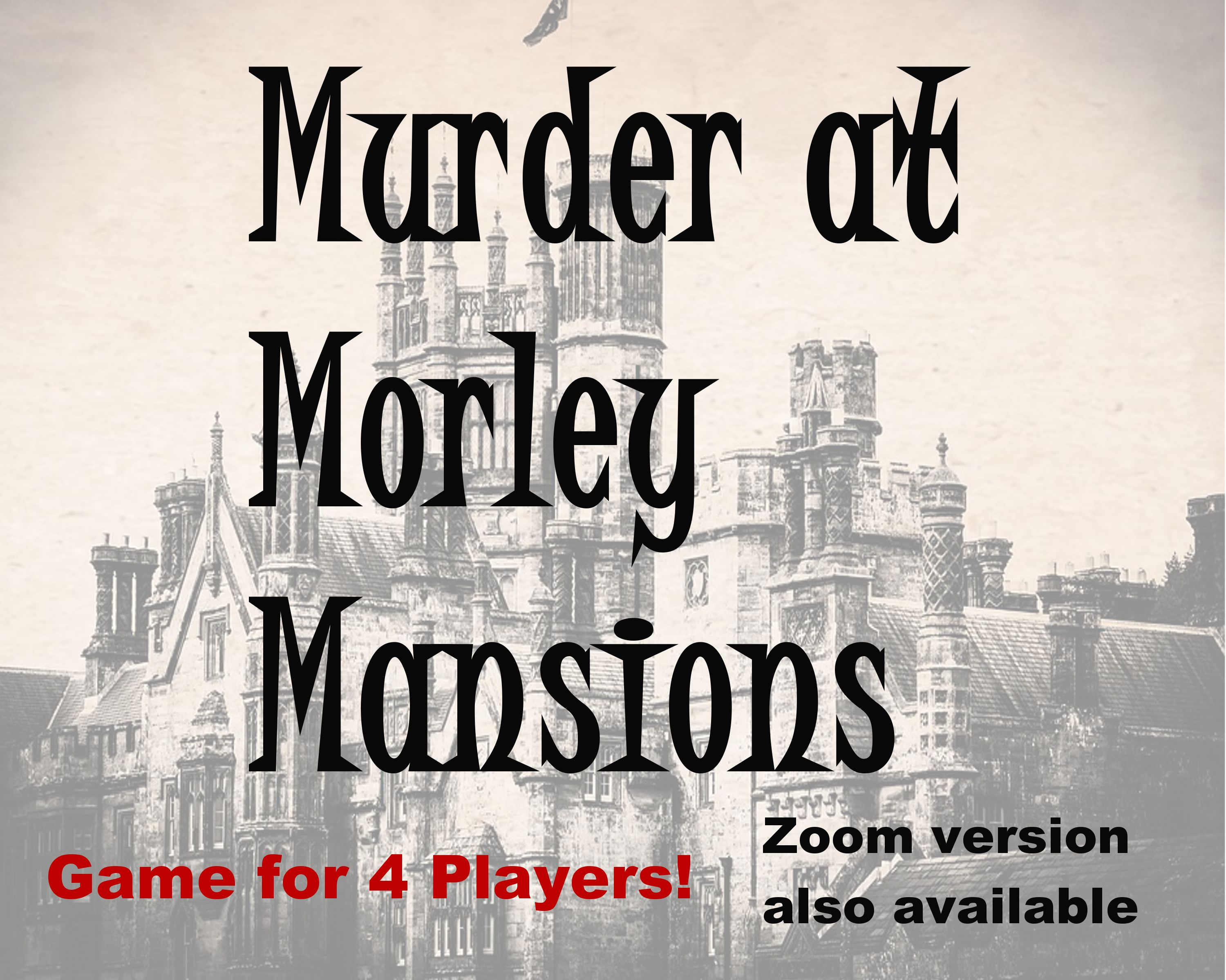 Pin on Murder Mystery Games