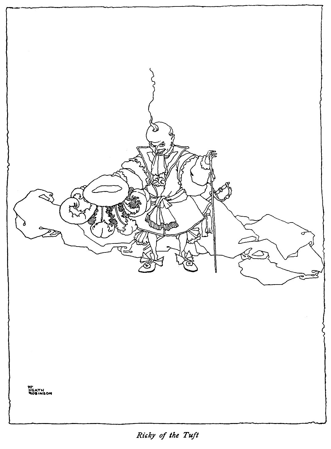 """'Ricky of the Tuft' from """"Old-time Stories"""" (1921"""