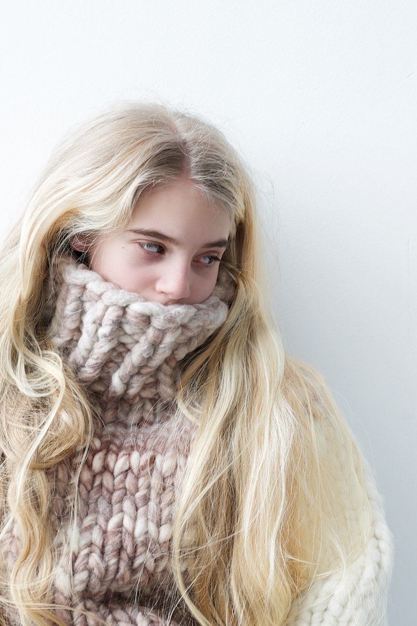 chunky knit sweater by lebenslustiger.com | Knit. | Pinterest ...