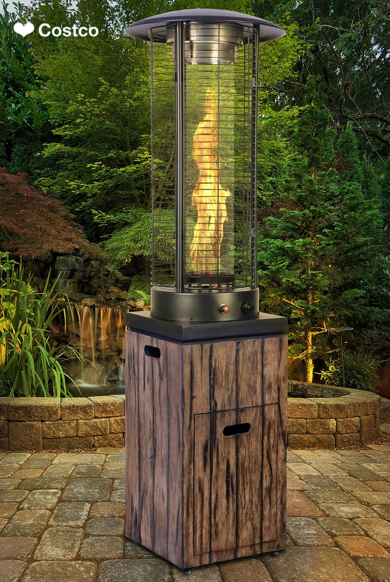Make Sure To Keep Your Guests Warm On Summer Nights Find A Large Selection Of Outdoor And Patio Heating Prod Outdoor Heating Patio Heater Propane Patio Heater