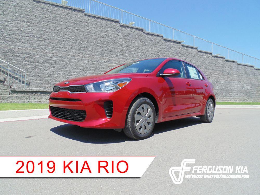 New 2019 Kia Rio For Sale Near Tulsa Ok Ferguson Kia 2019 Kia