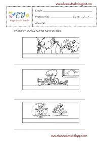 Caixinha Mágica De Ideias Auto Ditado E Formação De Frases 2 Ano
