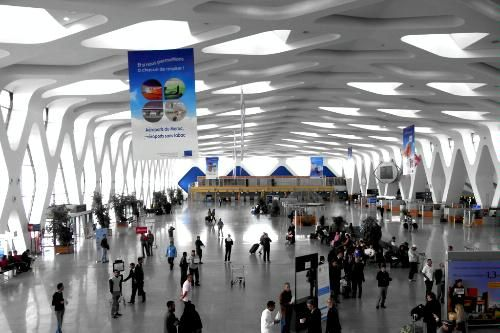 Marrakech Menara Airport Terminal 1, Marrakech, Morocco - One of World's 10 Most Beautiful Airport Terminals