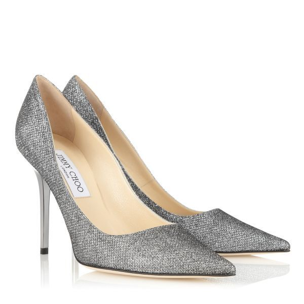 Anthracite lamé glitter pointy toe pumps from Jimmy Choo. Discover our  pointed toe shoes collection and shop for the latest trends today.