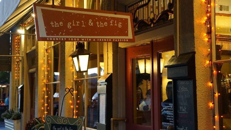 Restaurant The girl and the fig - Vom Mädchen und der Feige
