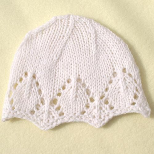Snowflake Baby Hat Free Knitting Pattern All In One Pinterest