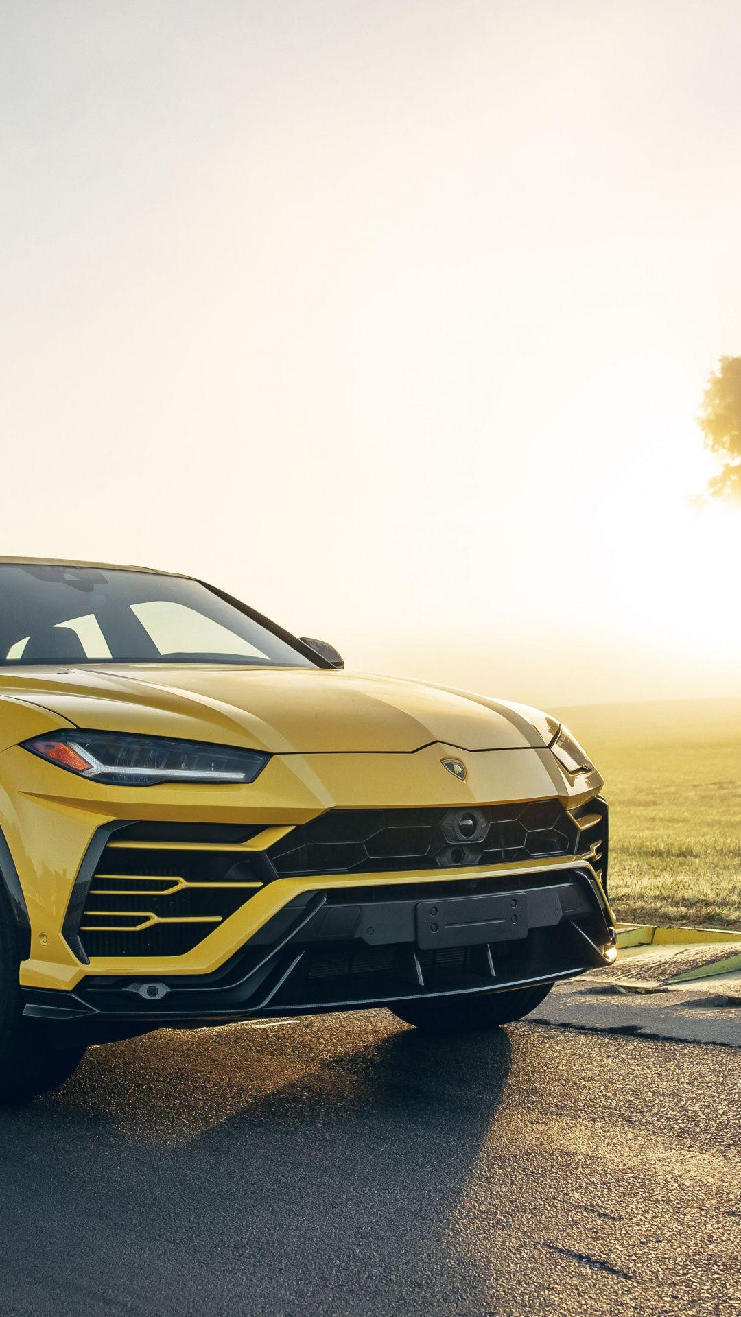 1080x1920 Car Yellow Suv Lamborghini Urus Compact Car Wallpaper In 2020 Lamborghini Car Wallpapers Sports Car Wallpaper