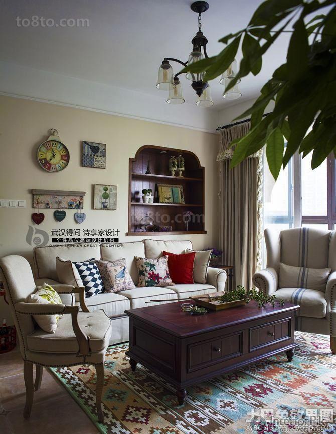 encyclopedia of american pastoral decoration living room pictures rh pinterest com au