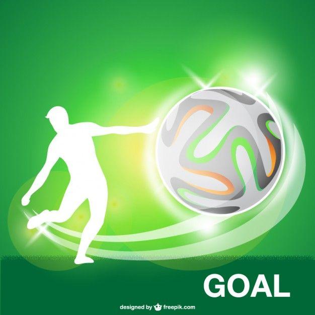 Download Soccer Ball Goal Vector For Free Soccer Football Soccer Ball