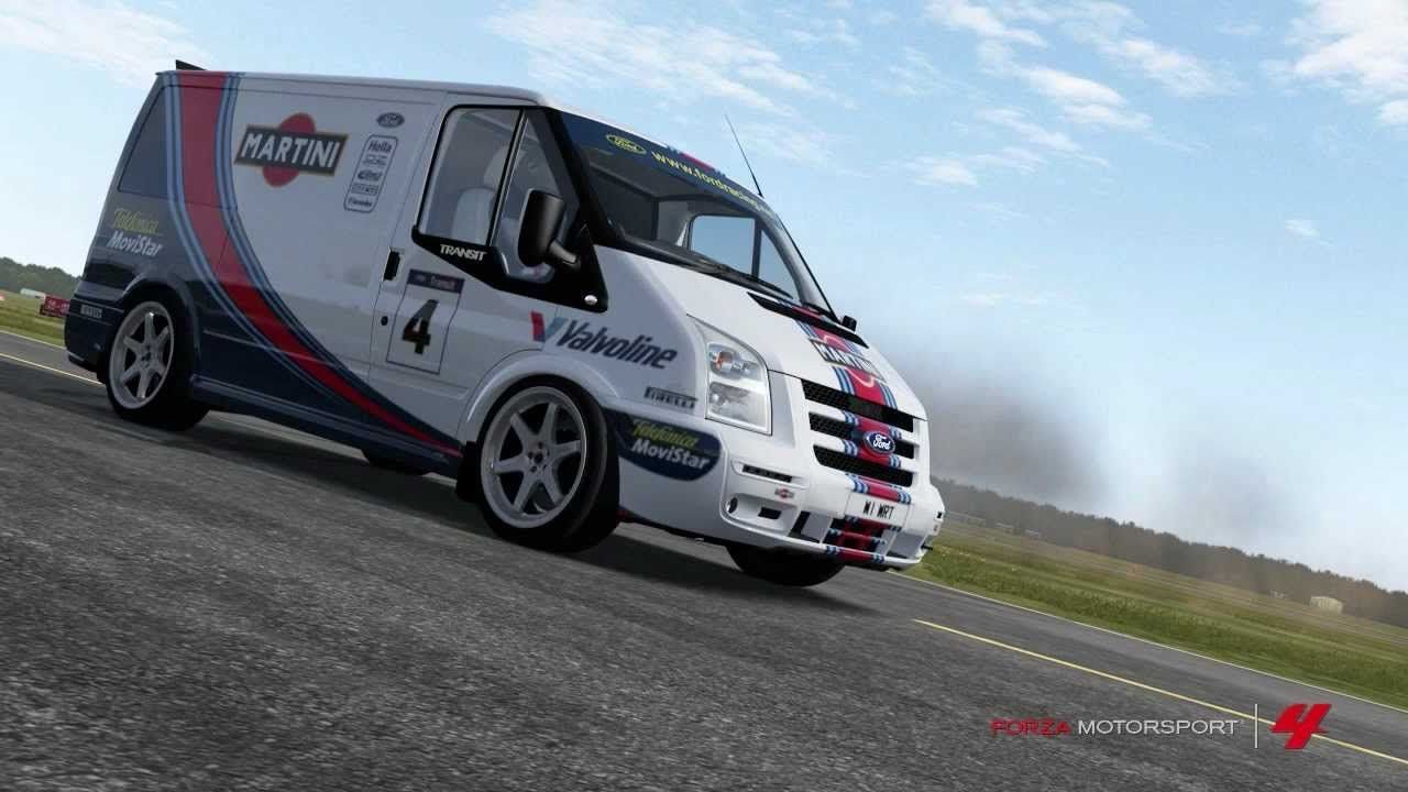 Forza 4 965 Bhp Ford Transit Supersportvan Top Gear Lap Hd