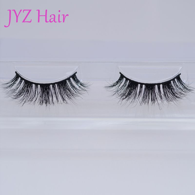 5360ebccfb2 Fashion luxury faux mink eyelashes 100% natural thick real mink fur eyelash  extension