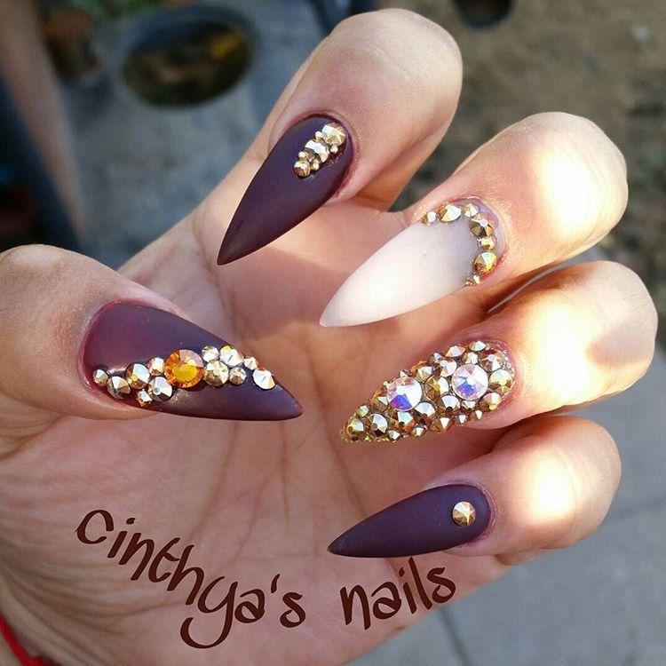 "0457659085d7 ""Love love my nails 💖 💅 💅  fallnails  fall  marron  grey  matte  rosegold   nails  nudenails  nailz  longnails  squarenails  pinknails  barbiepink…"""