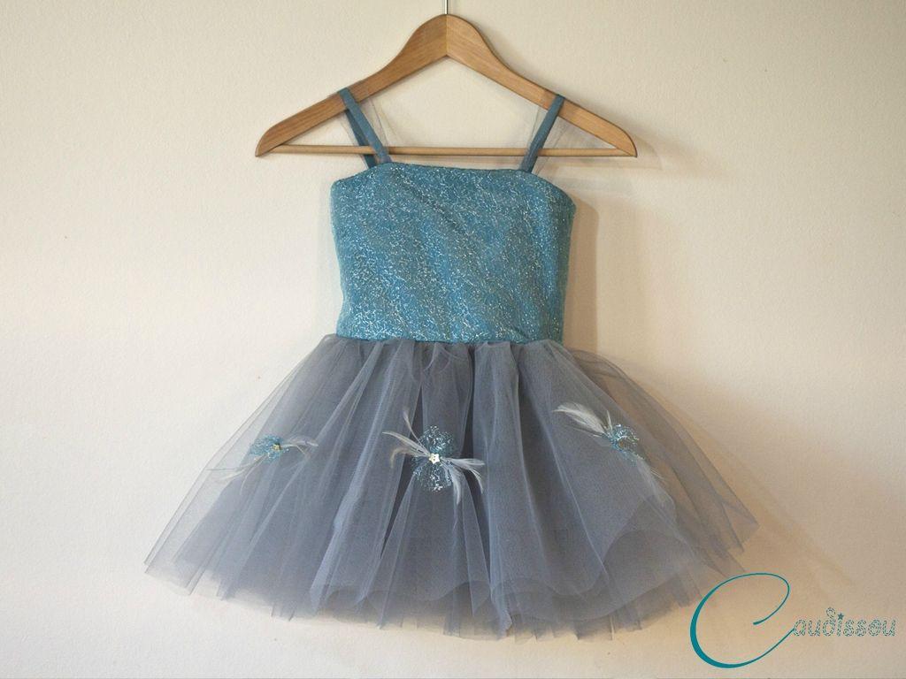 Caudissou Tuto Robetulleplumes Modele B Robe De Princesse Fillette Robe De Fete Robe De Fete Fille