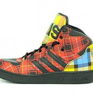 factory authentic f00f5 acc9c  Adidas Originals JEREMY SCOTT INSTINCT HI Chaussures de Mode  Sneakers  Homme Rouge Adidas