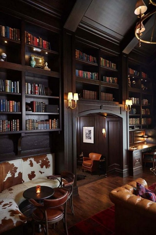 58 Best Home Library Design Ideas To Make Your Home Look Fantastic 58 Best Home Library Design Ideas To Ma Home Library Design House Design Home Libraries