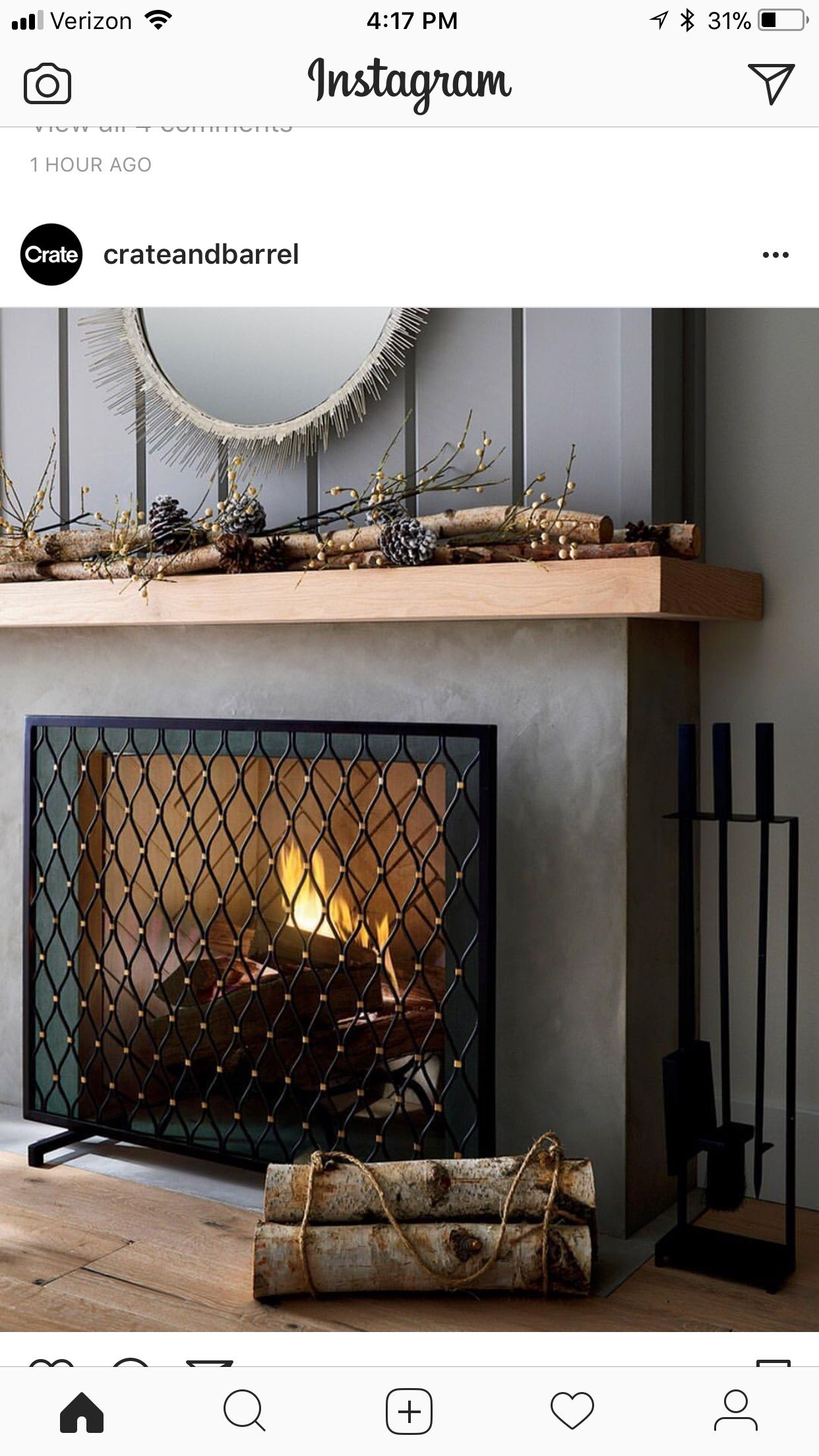 pin by larissa saucerman on fireplace pinterest room