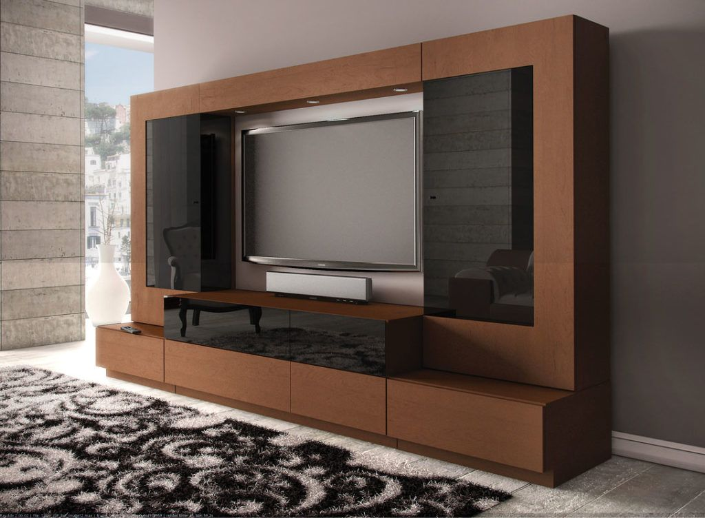 Perfect Tv Stand With Showcase Designs For Liv 15108 ...