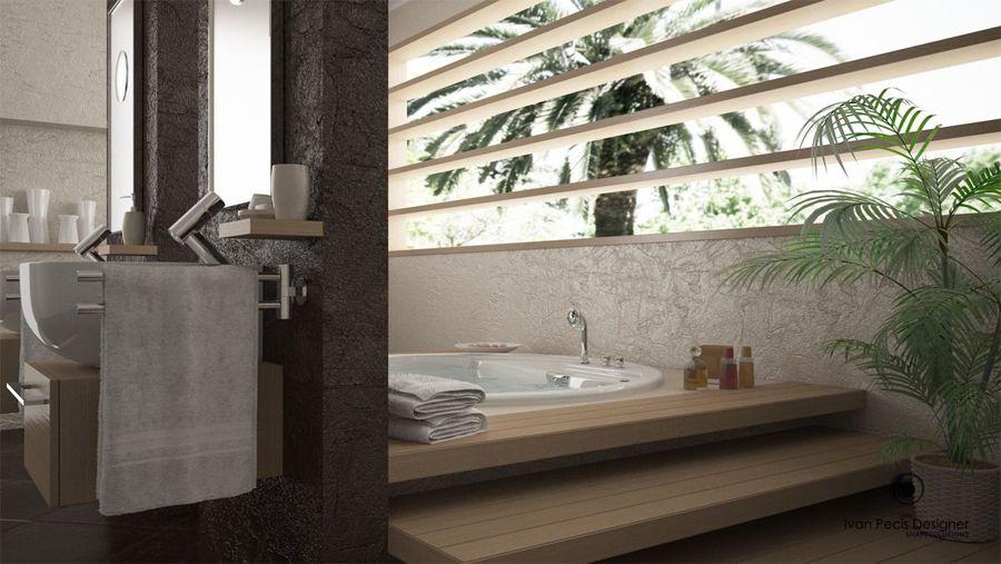 Bagni moderni con vasca idromassaggio cerca con google bagno style pinterest casa dolce - Bagni moderni con vasca ...