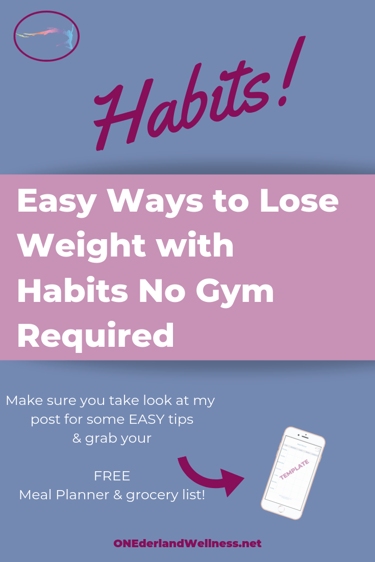 Easy Ways to Lose Weight with Habits No Gym Required