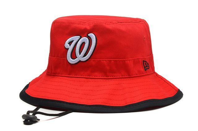 31211bab8da MLB BUCKET New Era Washington Nationals Fisherman Caps 017